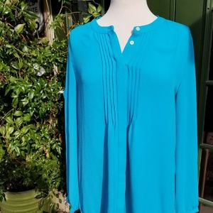 Large Banana Republic turquoise tunic